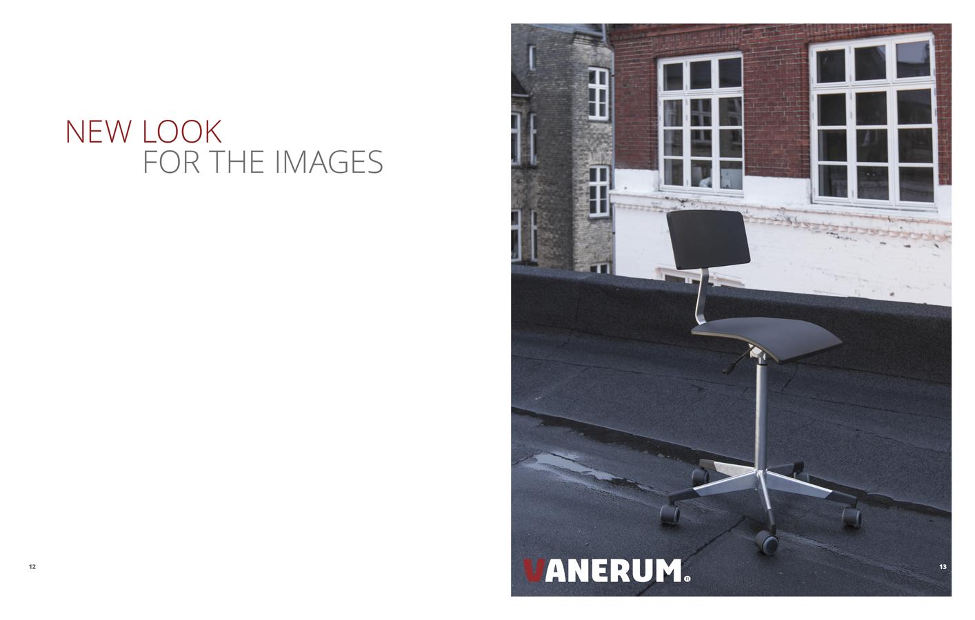 Furniture catalogue design